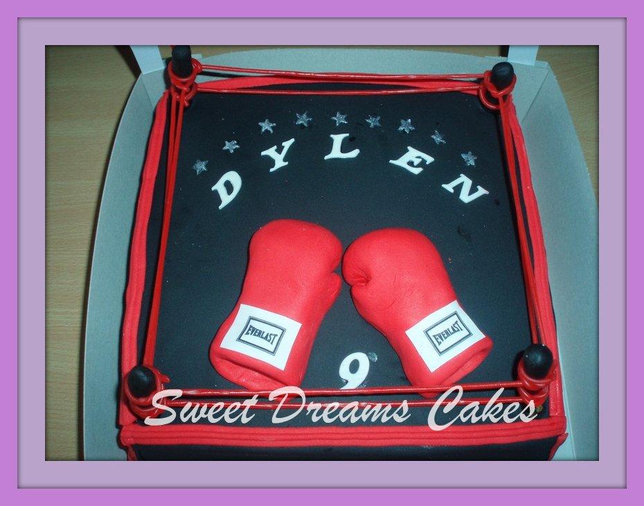 boxer ring 20-25 personen
