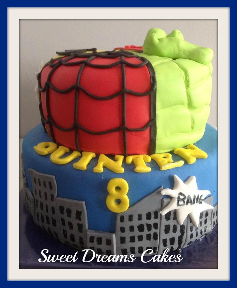 super helden taart