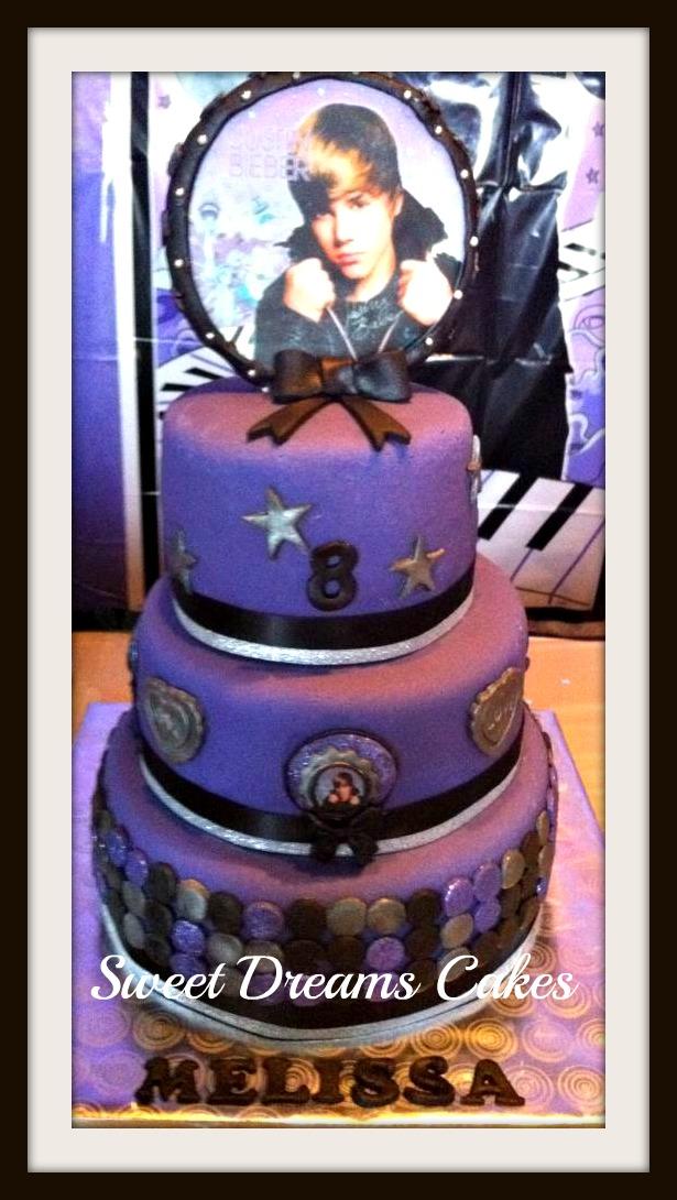 Justin Bieber taart