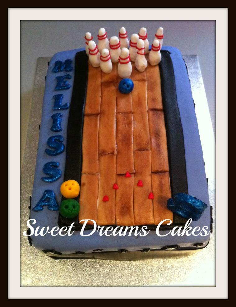 bowling taart