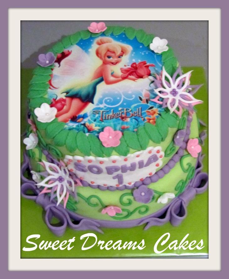 Tinkerbel taart